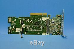 Véritable Dell Double M. 2 Slot Pcie Ssd Nvme Carte Contrôleur Adaptateur 2mfvd