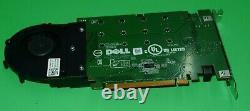 Véritable Dell Ssd M. 2 Pcie X4 Carte D'adaptateur De Stockage À L'état Solide 80g5n