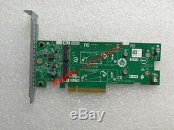 Véritable Dell Ssd Pcie M. 2 X 2 Solid State Storage Card Adapter Jv70f