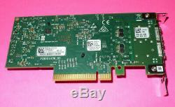 Véritable Mellanox Cx4121c 25gb Pcie X8 Double Port Carte Adaptateur Dell 20njd