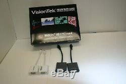 Visiontec Multi- Monitor 4-displays Pcie Cables Withadapter (vga / Dvi)