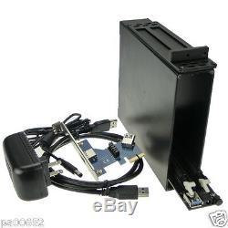 X1 Pcie À Double Pcie X16 2 Emplacements Carte Adaptateur Riser Pci-express